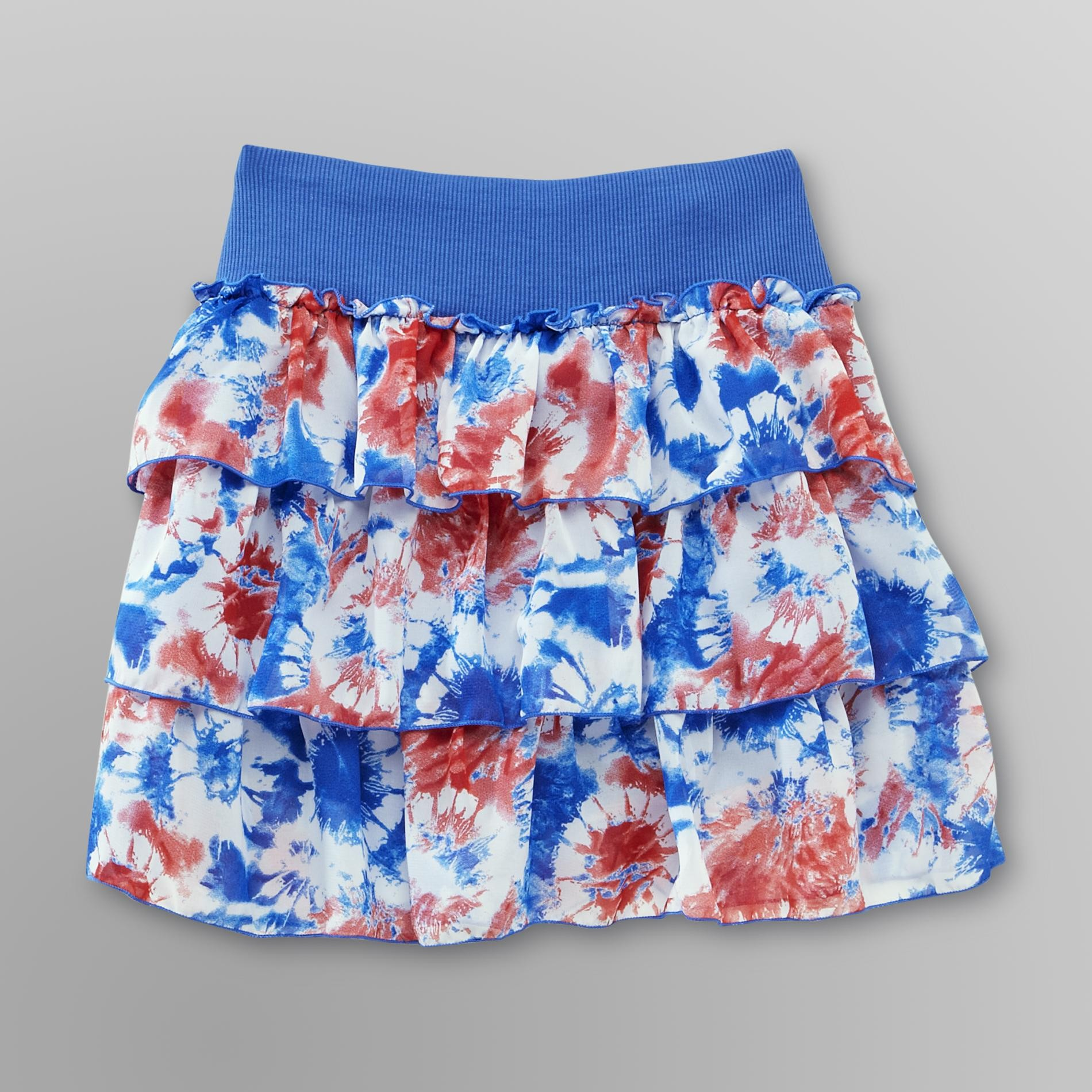 Route 66  Girl's Scooter Skirt - Tie-Dye