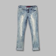 Bongo Junior's Cuffed Distressed Jeans at Sears.com