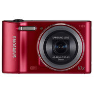 Samsung 16.2MP Smart Camera WB30F Red at Sears.com