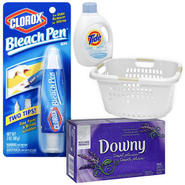 Laundry Day Bundle with Stain Remover, Detergent, Fab...