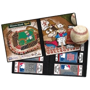 "MLB Mascot Ticket Album 8 1/4""X8 3/4"" Houston Astros   Junction Jack at Kmart.com"