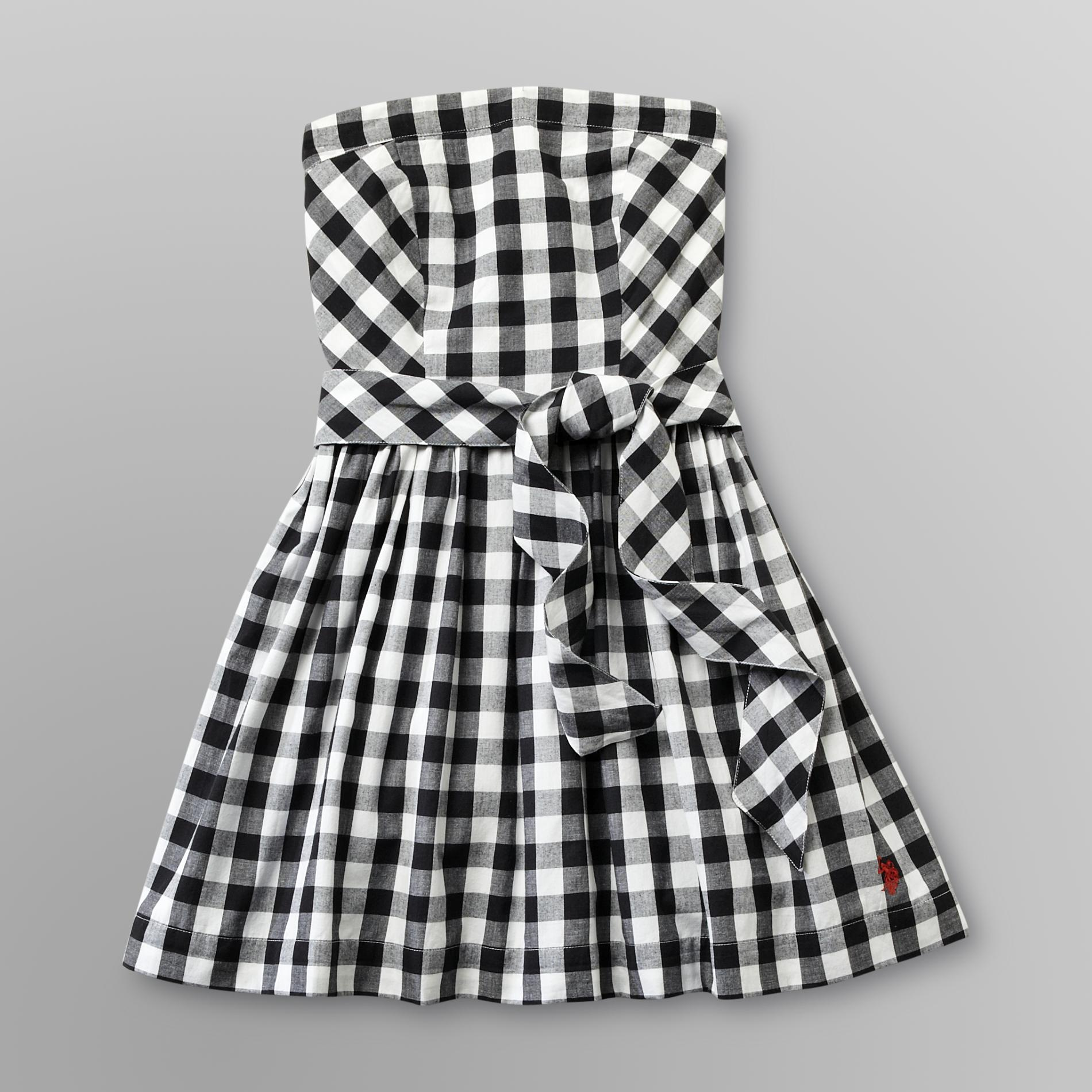 US Polo Assn. Junior's Sleeveless Sundress - Gingham at Sears.com