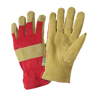 Westchester Suede Leather and Mesh Back Gloves at Sears.com