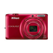 Nikon CoolPix 16MP Digital Camera S6500 - Red at Kmart.com