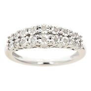 Sterling Silver 1/10 ct.tw Diamond Mom Ring at Sears.com