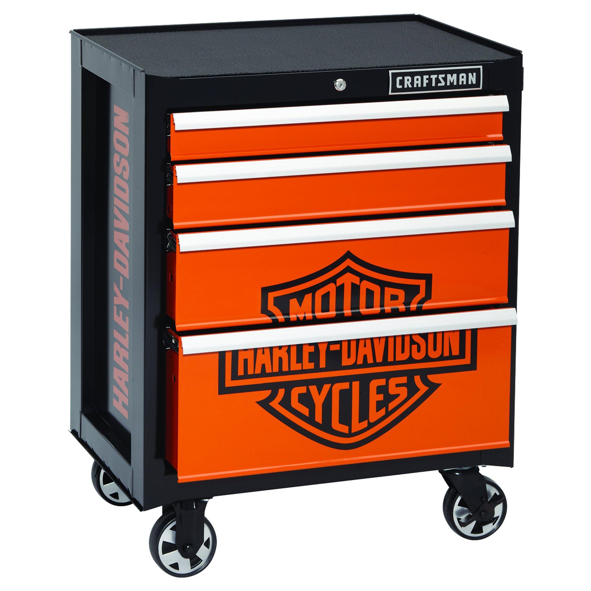 Craftsman Harley-Davidson® 4-Drawer Rolling Cabinet