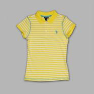 US Polo Assn. Junior's Fitted Polo Shirt - Striped at Sears.com