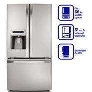 Kenmore Elite 31.0 cu. ft. French Door Bottom-Freezer Refrigerator - Stainless Steel at Kenmore.com