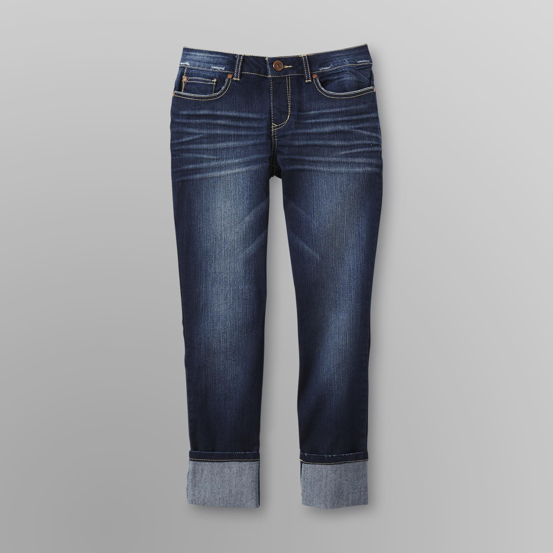 Route 66 Women's Roll Cuff Skinny Jeans at Kmart.com