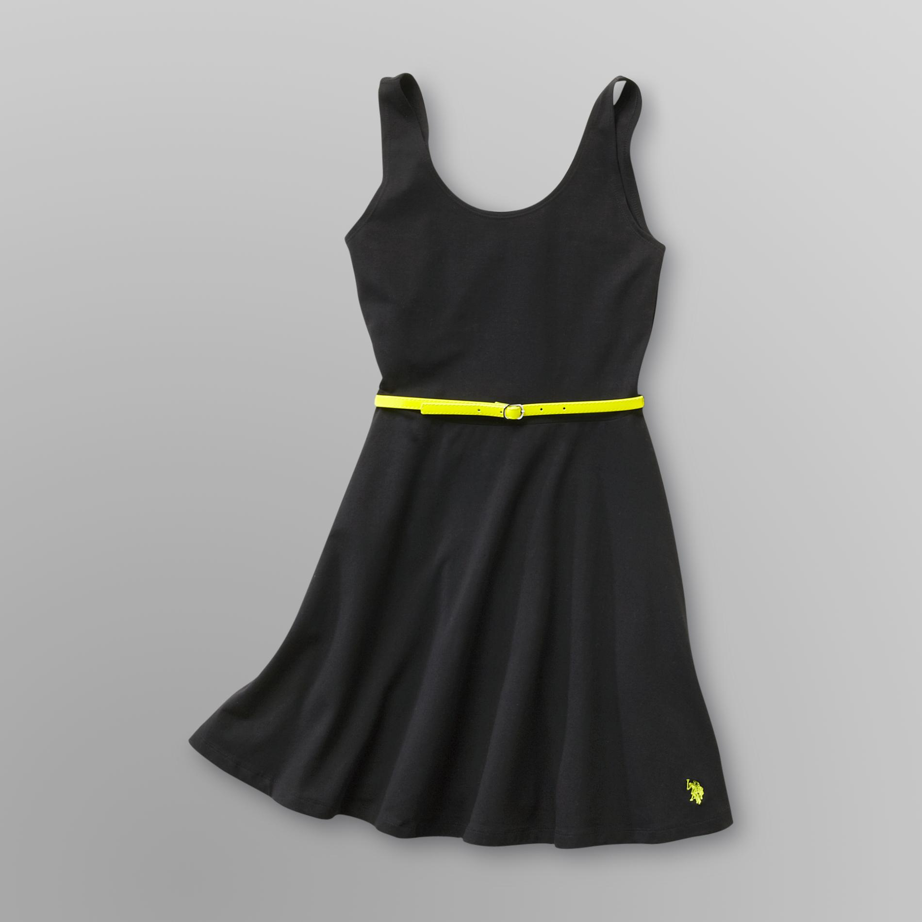 US Polo Assn. Junior's Belted Swing Dress at Sears.com