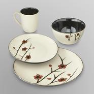 Jaclyn Smith 16-Piece Dinnerware Set - Autumn Branches