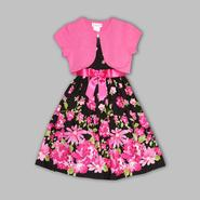 Ashley Ann Girl's Party Dress & Sweater Shrug - Floral at Sears.com
