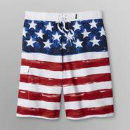 Joe Boxer Men's Swim Shorts - American Flag at Kmart.com