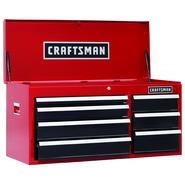 Craftsman 40 in. 7-Drawer Heavy-Duty Ball Bearing Top Chest at Sears.com