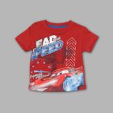 Disney Baby Cars Toddler Boy's Graphic T-Shirt - Lightning McQueen at mygofer.com