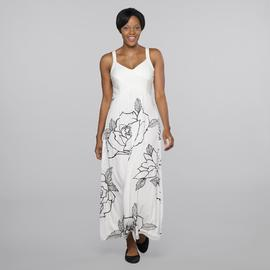Amanda Lane Women's Sleeveless Dress - Floral at Sears.com