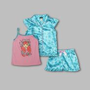Joe Boxer Girl's 3-Pc. Pajamas - Stars at Kmart.com