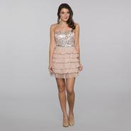 As U Wish Junior's Strapless Dress - Sequins at Sears.com
