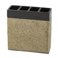 India Ink Leland Tooth Brush Holder, Oil Rubbed Bronze/Stone at Kmart.com