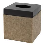 India Ink Leland Tissue Cover, Oil Rubbed Bronze/Stone at Kmart.com