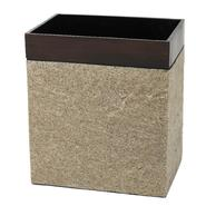 India Ink Leland Waste Basket, Oil Rubbed Bronze/Stone at Kmart.com