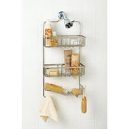 Zenith Products Family Sized Shower Head Caddy, Brushed Nickel at Kmart.com