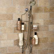 Zenith Products Expandable Shower Caddy for Hand Held Shower or Tall Bottles, Chrome at Kmart.com