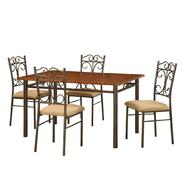 Essential Home Amelia 5 Pc Metal/Wood Dining Set at Kmart.com