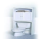 Zenith Products Zenith Products Country Cottage Spacesaver, White at mygofer.com
