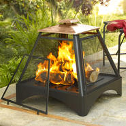 Pagoda Fireplace with Copper Roof at Kmart.com