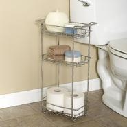 Zenith Products Slimline Floor Stand, 3 Shelf, Chrome at Kmart.com