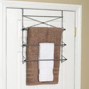 "Zenith Products ""Cross Style"" Towel Rack, 3 Bars, Satin Nickel at Kmart.com"
