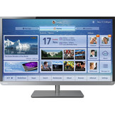 Toshiba Toshiba 32L4300U 32-Inch 1080p 120Hz Smart LED HDTV (Black with Gun Metal Trim) at mygofer.com