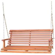 International Concepts Oiled Porch Swing with Chain at Kmart.com