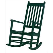 International Concepts Solid Wood Porch Rocker in Hunter Green at Kmart.com