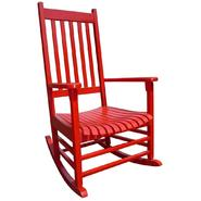 International Concepts Solid Wood Porch Rocker in Red at Kmart.com