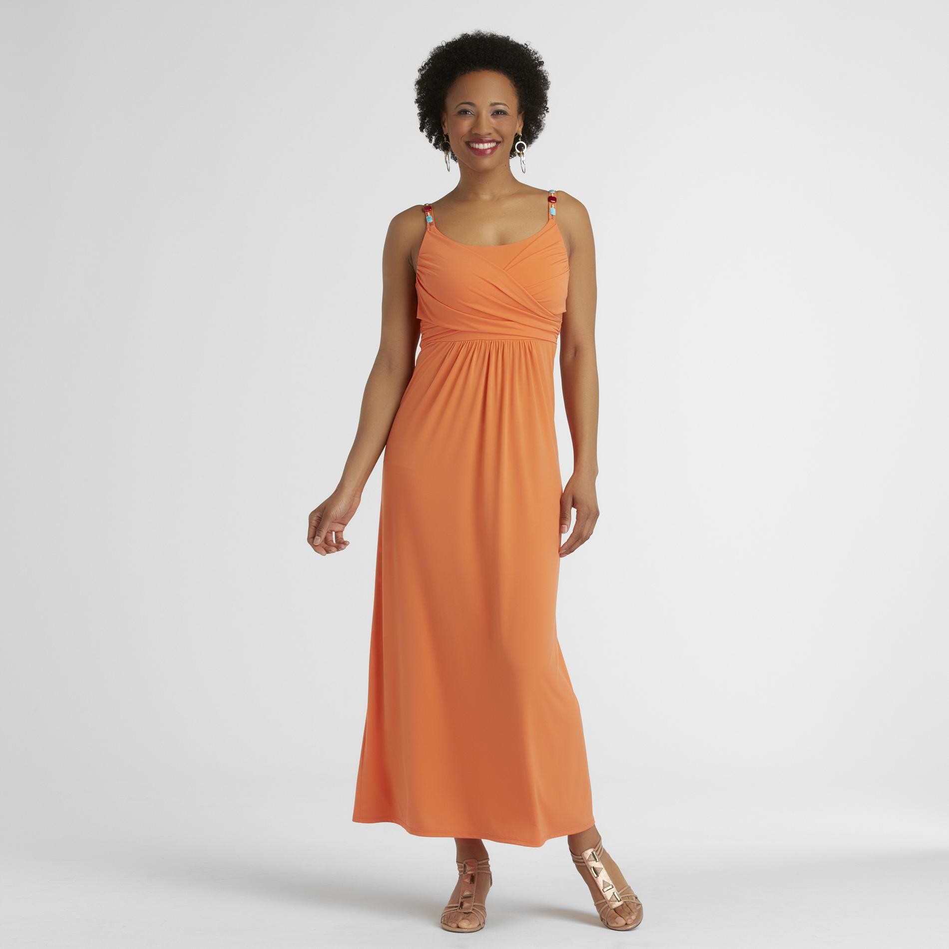 Jaclyn Smith Women's Maxi Dress - Beaded at Kmart.com