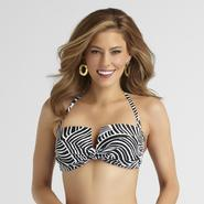 Sofia by Sofia Vergara Women's Molded Cup Bandeau Swim Top at Kmart.com