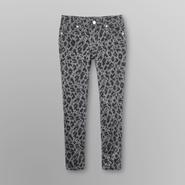 Canyon River Blues Girl's Printed Skinny Jeans - Cheetah at Kmart.com