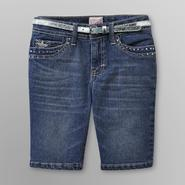 Canyon River Blues Girl's Denim Shorts & Belt - Medium Wash at Kmart.com
