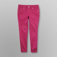 Canyon River Blues Girl's Printed Skinny Jeans - Polka Dot at Kmart.com