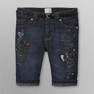 Canyon River Blues Girl's Denim Shorts & Belt - Dark Wash at Kmart.com