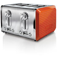 Bella Dots 4 Slice Toaster Orange at Kmart.com