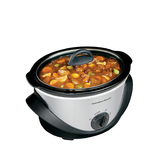Hamilton Beach 4 qt. Stainless Steel Slow Cooker at mygofer.com