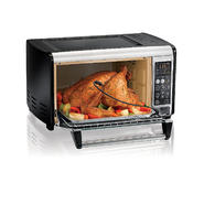 Hamilton Beach Set & Forget Toaster Oven with Convection Cooking at Sears.com