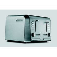 DeLONGHI 4-Slice Toaster with Extra Wide & Long Toasting Slots at Kmart.com