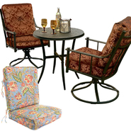 Country Living Bistro Set with Replacement Cushion Bundle at Sears.com