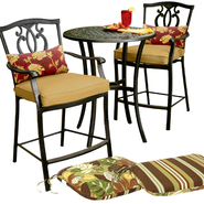 Country Living High Bistro Set with Replacement Cushion Bundle at Sears.com
