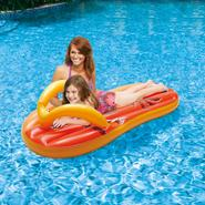 Swim Time Tropical Flip Flop 71 in. Inflatable Pool Float at Kmart.com