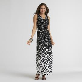 Metaphor Women's Maxi Dress - Polka Dot at Sears.com